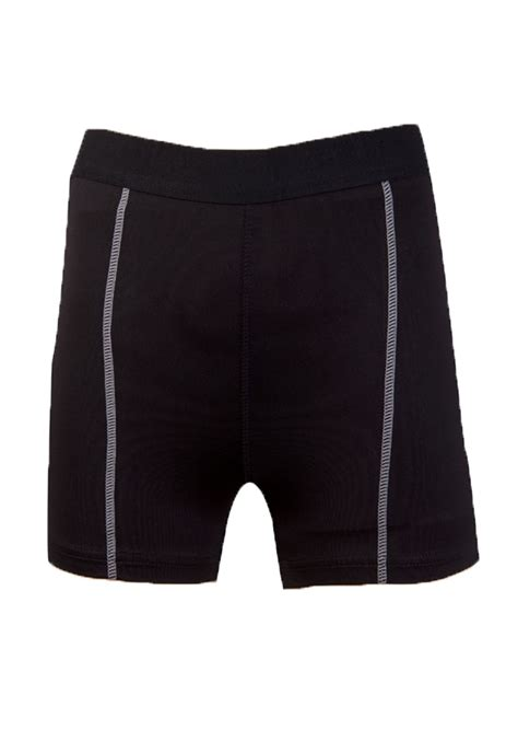Band Waist Slim Fit tennis shorts contrast waist band solid
