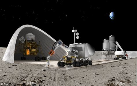 What House Is The Moon In by Building Homes On The Moon Robots Could One Day 3d Print