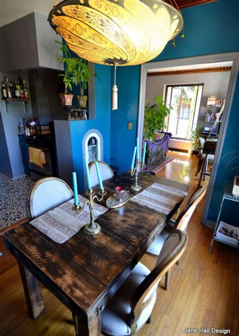 eclectic style dining room  architectural digest spain