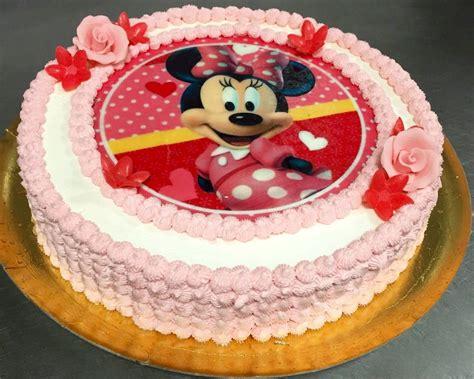 tarta de cumplea 209 os minnie mouse panaderia salduba marbella