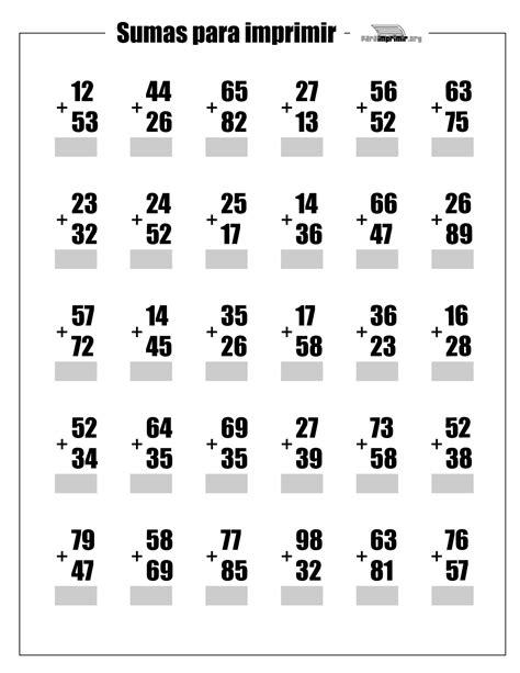 sumas y restas para ninos de primer grado sumas de primer grado related keywords sumas de primer