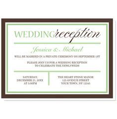 1000 ideas about reception only invitations on reception invitations wedding