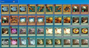 exodia library deck yugioh deck recipes