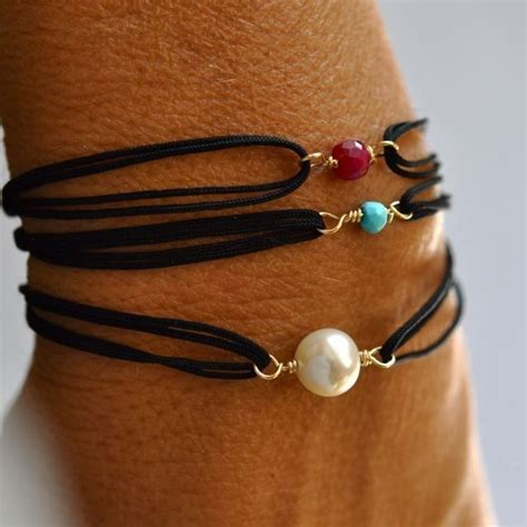 Easy Handmade Bracelets - fresh water pearl friendship bracelets diy