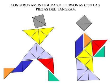 figuras geometricas que forman el tangram actividades con el tangram