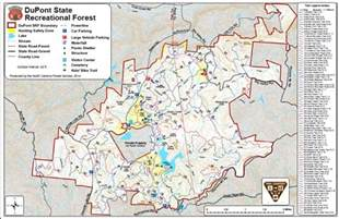 maps dupont state recreational forest