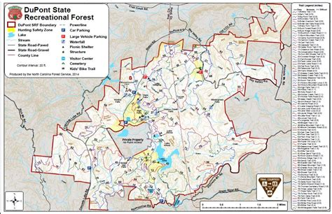 carolina forest trail map maps dupont state recreational forest