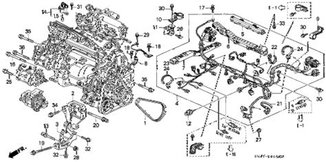 h23a engine harness diagram h23a get free image about