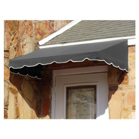 awning height awntech 8 feet san francisco window entry awning 16 inch