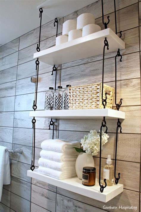 bathroom shelf ideas 43 over the toilet storage ideas for extra space toilet