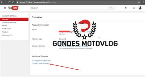 cara membuat youtube channel di hp cara membuat channel youtube motovlogger dan menambah