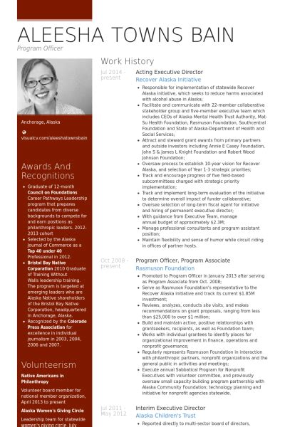 Student Resume Examples by Executive Director Resume Samples Visualcv Resume