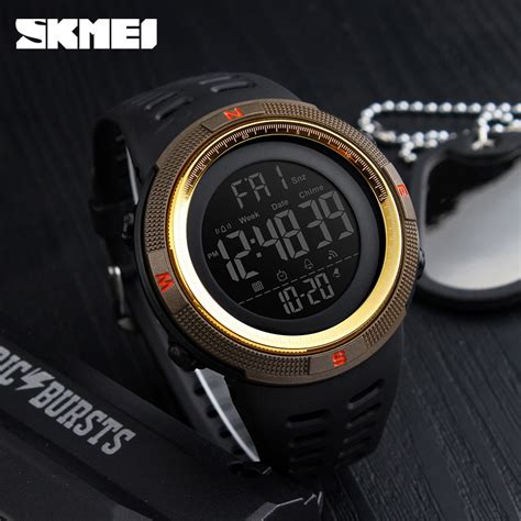 Jam Tangan The Unisex Ab1607 Brown List Gold Plat Black skmei jam tangan analog pria dg1251 black gold jakartanotebook