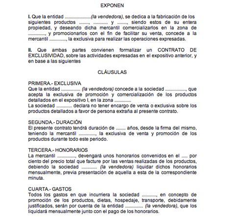 modelo de contrato de trabajo para el servicio domestico modelos de contratos turno de oficio