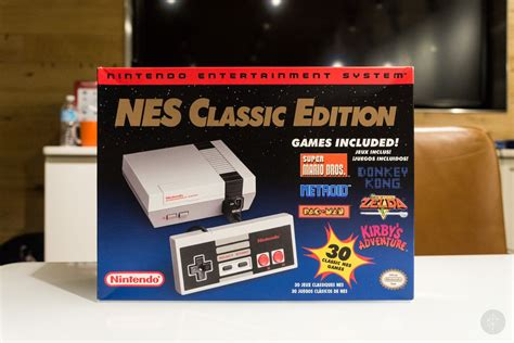 nintendo entertainment system nes classic edition coming this november ships with 30 nintendo bringing back nes classic edition in 2018 polygon