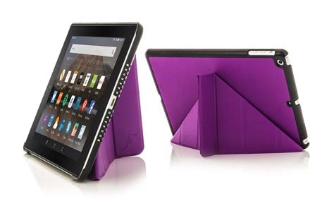 Origami Kindle Hd - purple origami smart cover stand hd 8