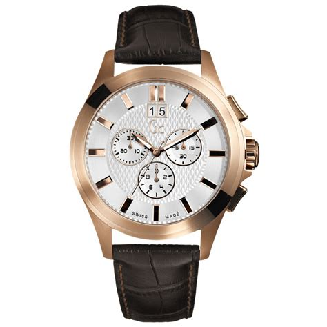 Gc X5200 Rosegold gc gold plated i42003g1 gold plated market cross jewellers