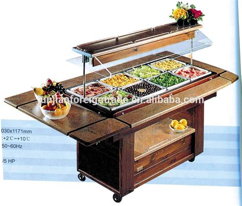 counter top salad bar luxury marble salad bar display counter commercial