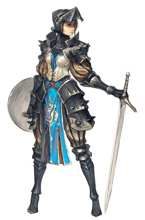 Female knight polycount