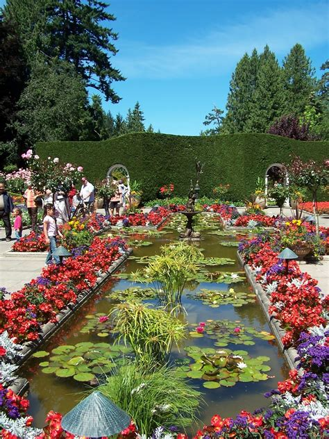 Butchard Gardens by 1 World Knowledge The Butchart Gardens