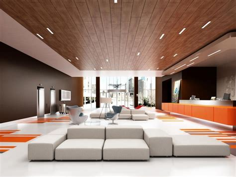 Design Of False Ceiling In Living Room Fancy Wooden False Ceiling Designs For Living Room Interior With White Sofa Set And Orange