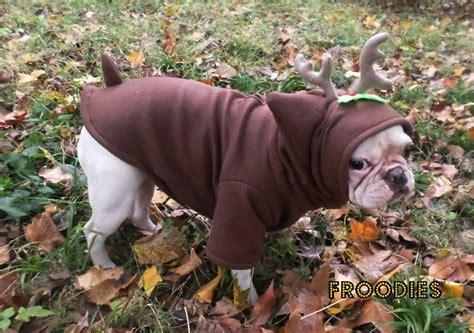 pug reindeer costume bulldog boston terrier pug froodies hoodies costume