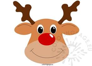 pin the nose on rudolph template rudolph template eliolera