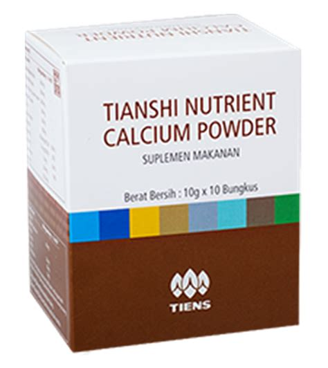 Tiens Nutrient Calsium Powder jual nutrient high calcium powder nhcp tiens farmakita