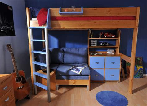 Stompa High Sleeper With Futon by Stompa Casa High Sleeper Bed Build Your Own