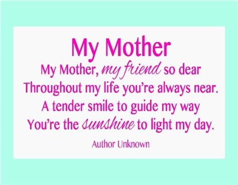 mother quotes 28 best images about mother s day poems on pinterest