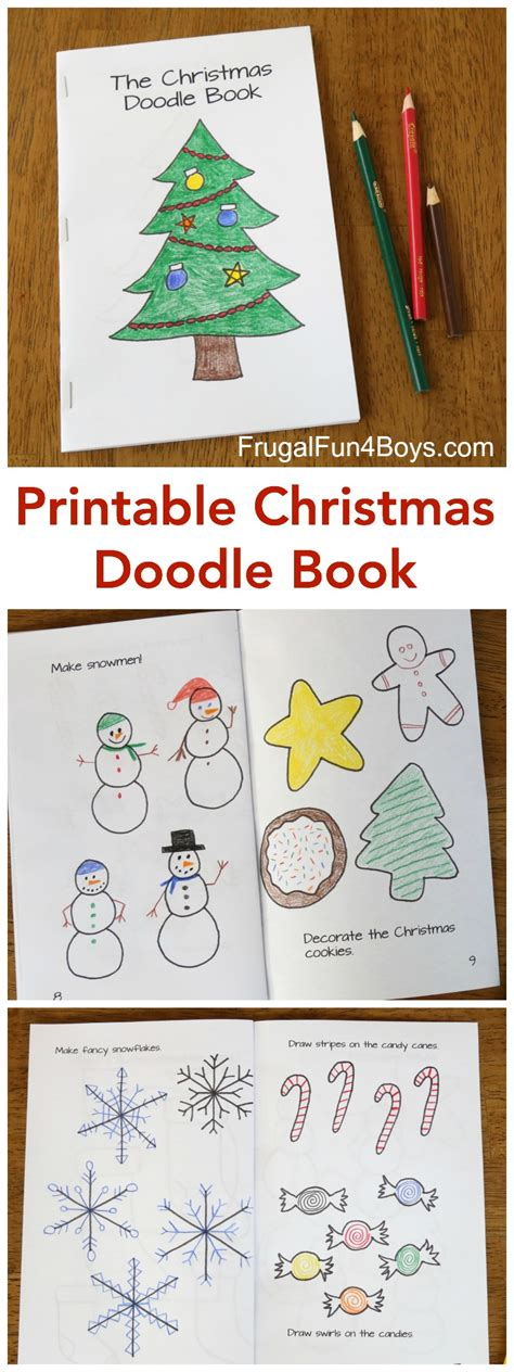 how to create a doodle book printable doodle book