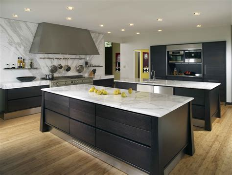 contemporary kitchen design ideas with white granite