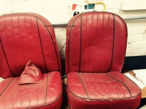 Classic Car Seat Upholstery by Leather Car Seat Cleaning Repair And Restoration