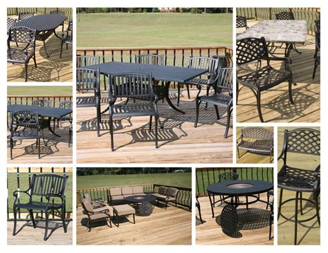Solid Cast Aluminum Patio Furniture by Cast Aluminum Patio Furniture Betterimprovement
