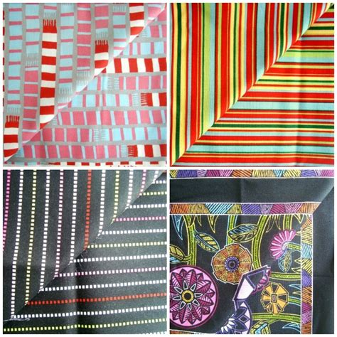 Materials Needed To Make A Quilt by Mitered Corner Quilt Block Tutorial With Striped Fabric