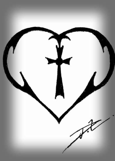 tribal heart tattoo design tribal tattoos gallery