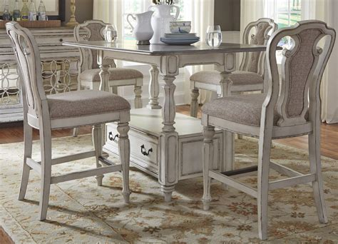 White Furniture Company Dining Room Set Bolanburg 40 Quot Antique White Rectangular Dining Room Table Circle