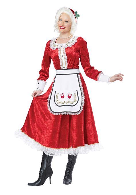 classic mrs claus costume
