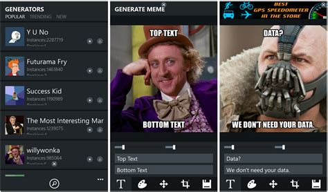 Meme Generator Text - meme generator suite today s adduplex hero app windows