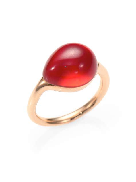 re pomellato pomellato cabochon ring in lyst