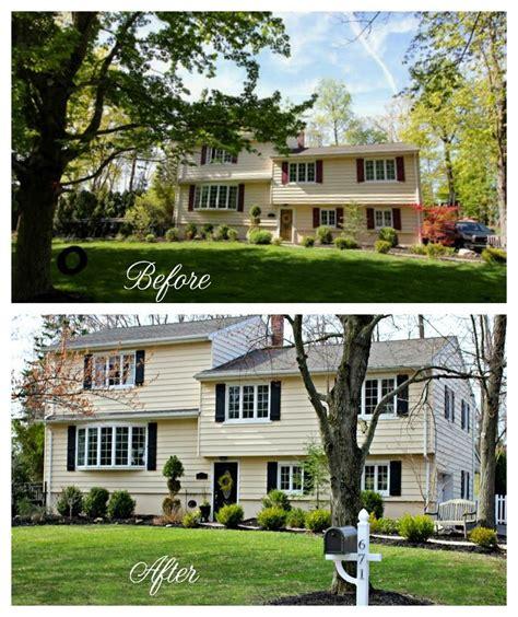 split level landscaping curb appeal 37 best images about split level homes on