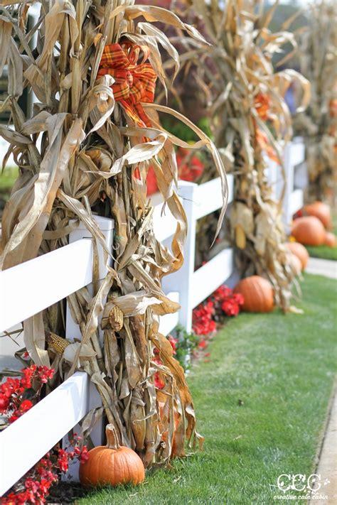 Best 25 Fall Yard Decor Outdoor Fall Decor Ideas Creative Cain Cabin This Is