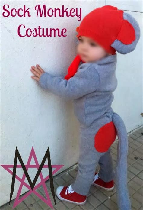 sock monkey diy costume allfreesewing