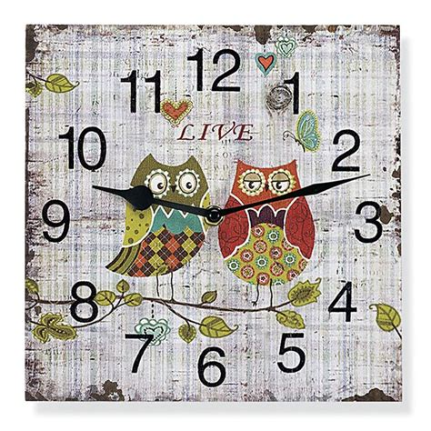owl kitchen kanister owl clock gifts for s special moments