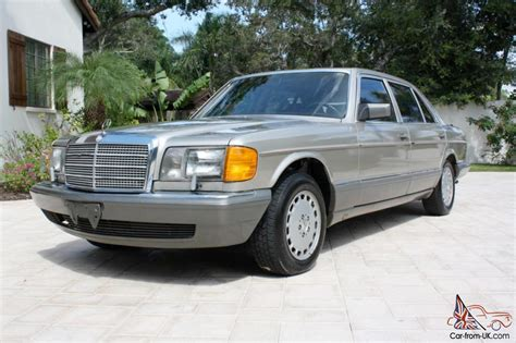 1986 Mercedes 420sel by 1986 Mercedes 420sel One Owner Florida Car