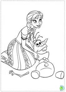 frozen coloring anna disney princess free coloring pages kids