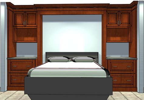 Used Kitchen Cabinets Ct by Who Knew Semi Custom Cabinets Could Be Used To Build A Bed