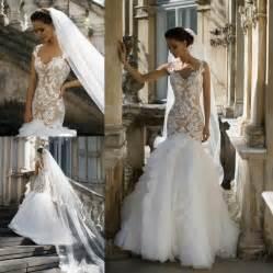 custom made wedding dress new designer milla wedding dresses 2016 tulle appliqued spaghetti bridal gowns with