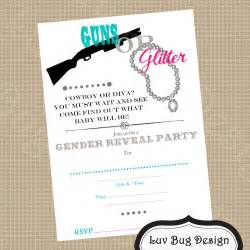 printable gender reveal invitations invitation librarry