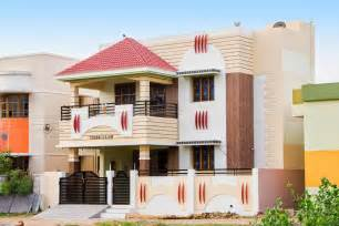 Indian House Design Portico Tamil Nadu Modern House Pics Design A House